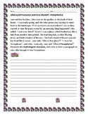 SPRING/ MYTHOLOGY WRITING PROMPT: PERSEPHONE