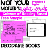 SCIENCE OF READING DECODABLE READERS FREE SAMPLE