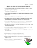 SCIENCE - PHYSICS  Électricité courante - problèmes de revue