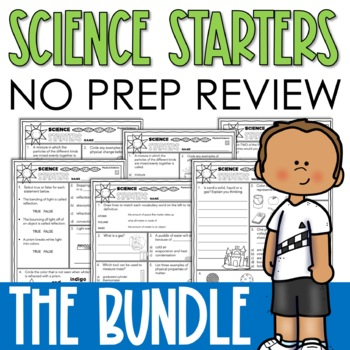 SCIENCE PRINTABLES BUNDLE