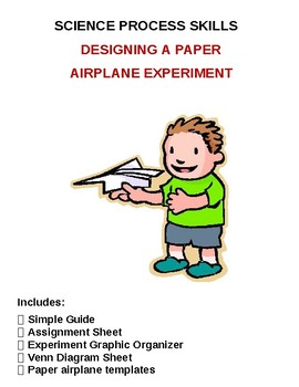 SCIENCE PROCESS SKILLS: DESIGNING A PAPER AIRPLANE EXPERIMENT
