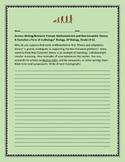 Science Prompt: Mathematicians v. Evolution, Biology, AP Biology, Grades 9-12