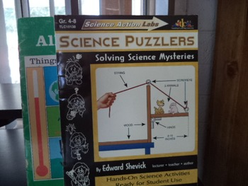 SCIENCE PUZZLERSSCIENCE ALL AROUND US   (set of 2)