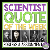 SCIENCE POSTERS & ASSIGNMENT
