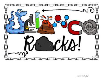 SCIENCE ROCKS! Poster Set