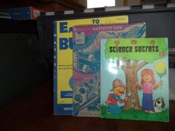 SCIENCE SECRETS   LOG  SCIENCE BULLETIN (SET OF 3)