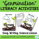 """""""Germination"""" Song:  Water Cycle, Literacy & Science Activities, Mp3 Tracks"""