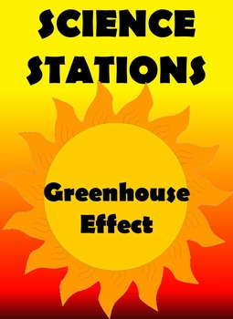 SCIENCE STATIONS:  GREENHOUSE EFFECT (Great for Observations!)