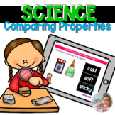 SCIENCE: Similar Properties in Objects [Boom Cards]