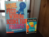 SCIENCE TALK CARDS  SCIENCE FAIR PROJECTS (SET OF 2)