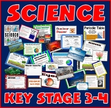 SCIENCE TEACHING RESOURCES KEY STAGE 3-4 CHEMISTRY BIOLOGY PHYSICS