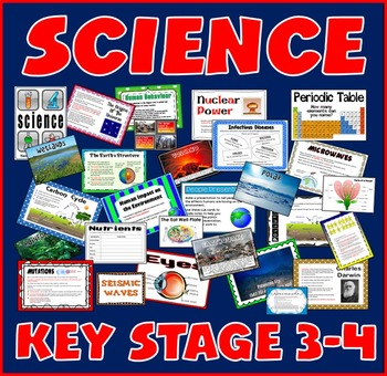 SCIENCE TEACHING RESOURCES KEY STAGE 3-4 CHEMISTRY BIOLOGY