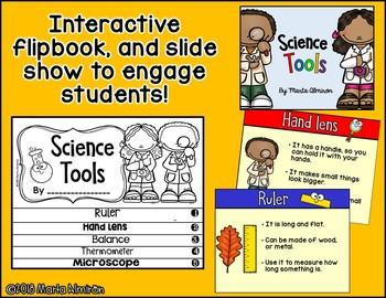 SCIENCE TOOLS {Flipbook and Slide Show}