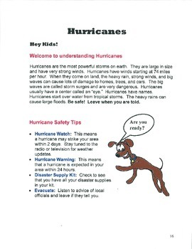 SCIENCE Lesson Plan - Weather Units - NO PREP - Activities, Quizzes, and Puzzles