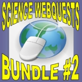 SCIENCE WEBQUEST Bundle #2 (10+ assignments / 35 pages) - Internet