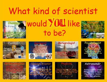 SCIENCE - What kinds of jobs do scientists do? Calkins Lab Reports