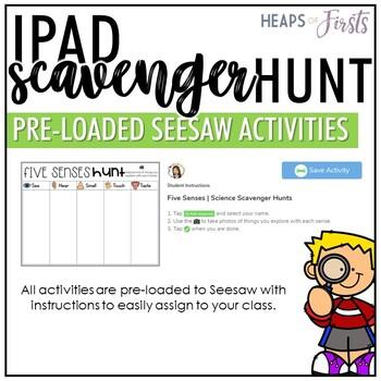 Science - iPad Scavenger Hunts