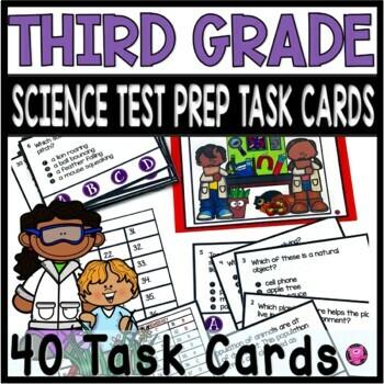 3rd Grade Science Test Prep Tasks