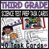 Science Third Grade Test Prep Task Cards