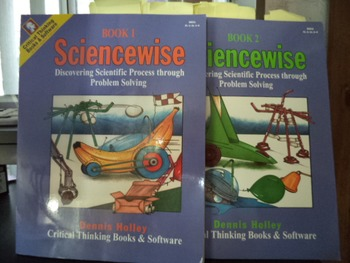 SCIENCEWISE  BOOK 1  AND BOOK 2                SET OF 2