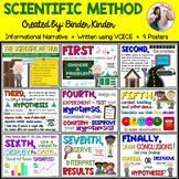 Scientific Method-Informational Narrative Posters