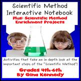 Scientific Method Interactive Notebook! Activities, Enrich