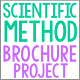 SCIENTIFIC METHOD: Science Research Brochure Template Proj