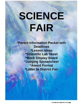 SCIENTIFIC PROCESS/SCIENCE FAIR UNIT