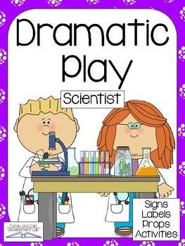 SCIENTIST LAB Dramatic Play Center