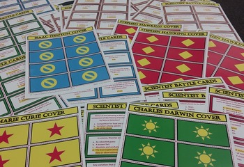 SCIENTISTS: CLASSROOM & FAMILY BOARD GAME