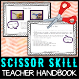 Cutting Practice: Teacher Handbook - How to Teach Scissor Skills
