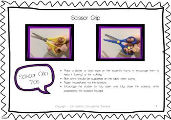 Cutting Practice: Teacher Handbook - How to Teach Scissor Skills