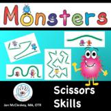 SCISSORS SKILLS Monster Themed!