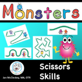 SCISSORS SKILLS Monster Themed!