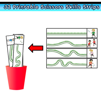 SCISSORS SKILLS Rugby Themed