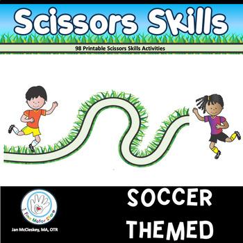 SCISSORS SKILLS Soccer Themed