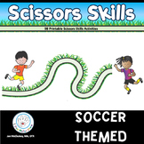 SCISSORS SKILLS Soccer Themed