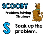 SCOOBY Math Strategy Poster