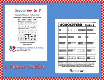 SCOOCH'EM to 5 (5 frame Version)