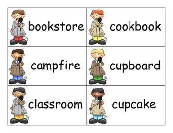 SCOOP! Compound Words Card Game
