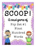 SCOOP! Fry First Hundred Words Card Game