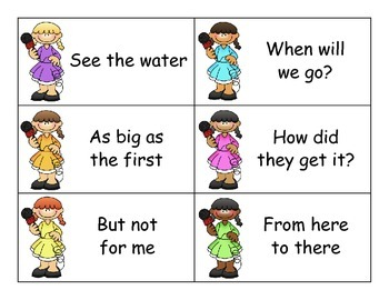 SCOOP! Fry Phrases Set 1 Card Game