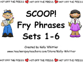 SCOOP! Fry Phrases Sets 1 - 6 Card Game Money Saving Bundle