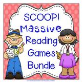 SCOOP! Massive Reading Card Game Bundle - 69 games!