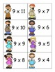 SCOOP! Multiplication Facts Practice Factors of 6 - 12