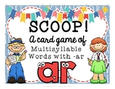 SCOOP! Multisyllable Words That Contain - AR  Reading Card Game