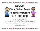 SCOOP! Place Value Card Game Reading Numbers to 1,000,000