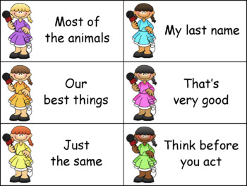 SCOOP! Fry Words and Phrases Reading Games Bundle - Money Saving!