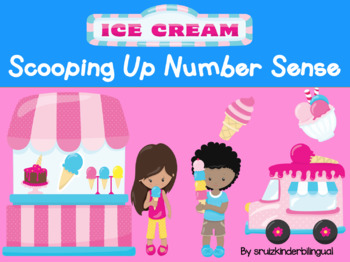 SCOOPING UP NUMBER SENSE~math center~