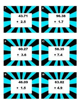 SCOOT - Adding Decimal Numbers